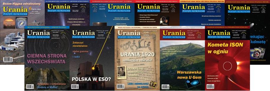 Roczna prenumerata Uranii za 20 zł?
