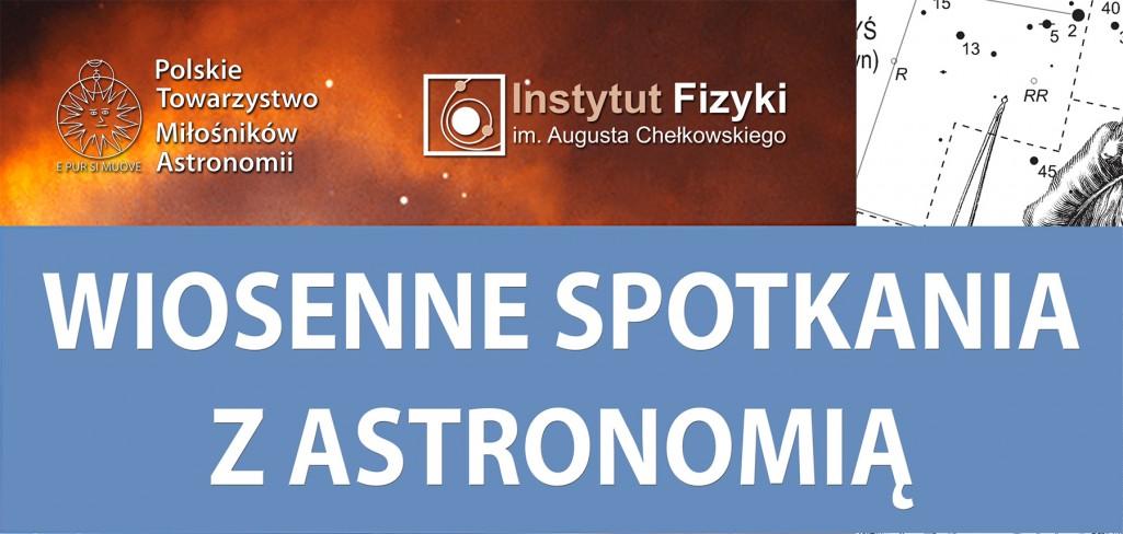 Wiosenne spotkania z astronomią