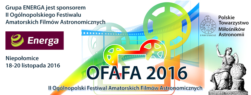 II Ogólnopolski Festiwal Amatorskich Filmów Astronomicznych