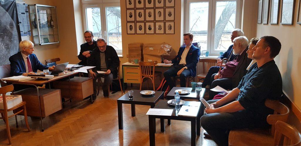Zebranie Zarządu Głównego PTMA